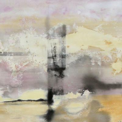 Peintures sur papier d'art – Encre et huile